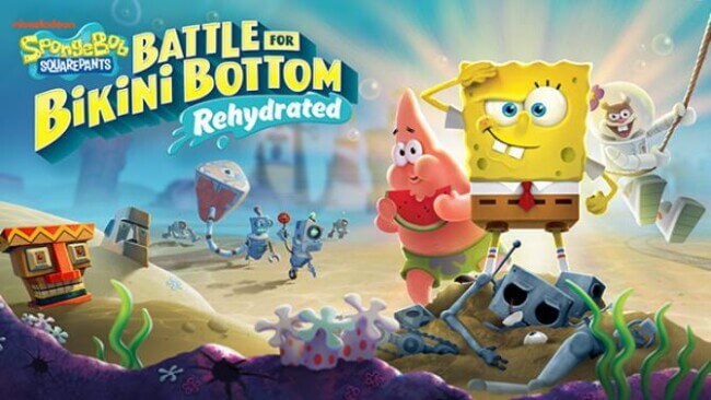 Spongebob Squarepants Battle For Bikini Bottom Rehydrated PC Game