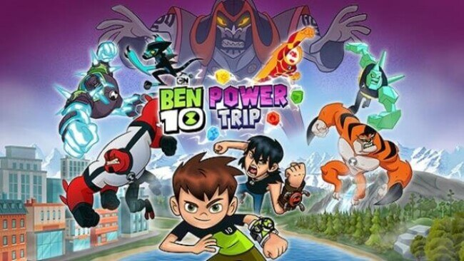 BEN 10 POWER TRIP PC GAME FREE DOWNLOAD Full Version